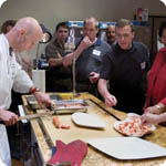 Alto-Shaam Culinary Center seminar attendees